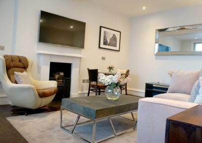 Goodall Suite Living Room - Bridgnorth Bed and Breakfast Company