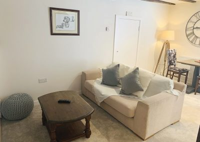 Hazel Cottage | Bridgnorth Bed and Breakfast Company | Living Room Sofa